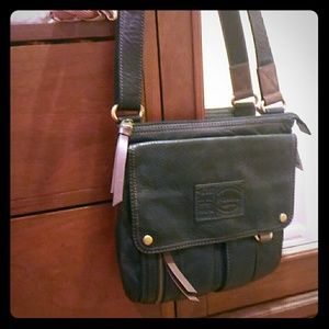 Fossil Black Cross Body NWT (Morgan Traveler)